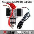 Высококачественный 0.3 мм сопла накаливания 1.75 мм GT5 экструдер для RepRap Prusa мендель шагового двигателя GT040