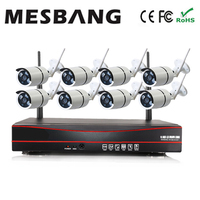 Mesbang 960P Waterproof Outdoor Bullet Wifi Security Camera System Wireless 8ch Nvr Kit Free Shipping By