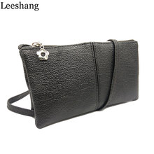 Leeshang New Bolsa Feminina Mini Sling Leather Crossbody Bag Women Small Female Black Shoulder Bags Small