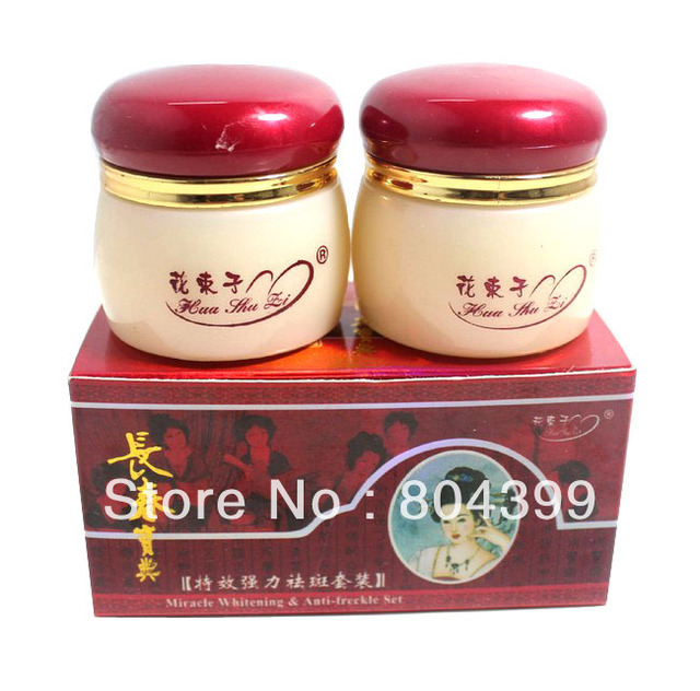 Miracle Whitening & Anti-Freckle Cream Sets Magic Whitening Cream 20g+20g face cream skin care