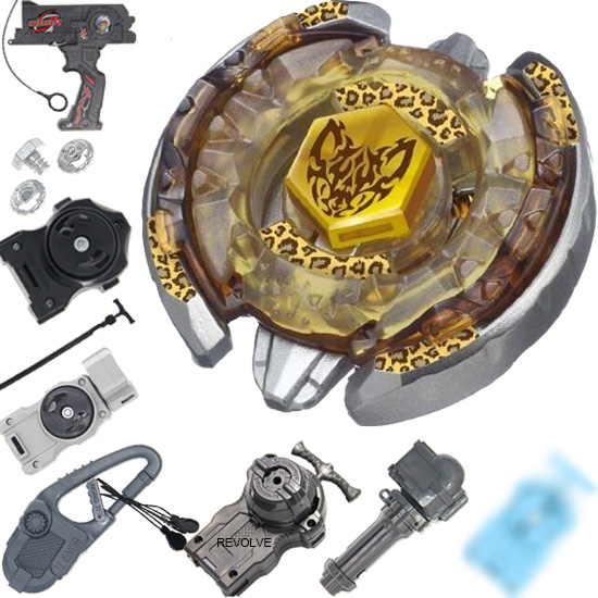 Beyblade BB109 4D Metal Beyblade Beat Lynx Battle Top 4D Metal Fusion Fight Toys With Launcher As Your Choose Drop Shopping