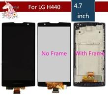 цены на For LG Spirit LCD H442 H440 Screen H440F H440N H440Y H442 H442F H443 LCD DisplayTouch Screen Digitizer Assembly with frame  в интернет-магазинах