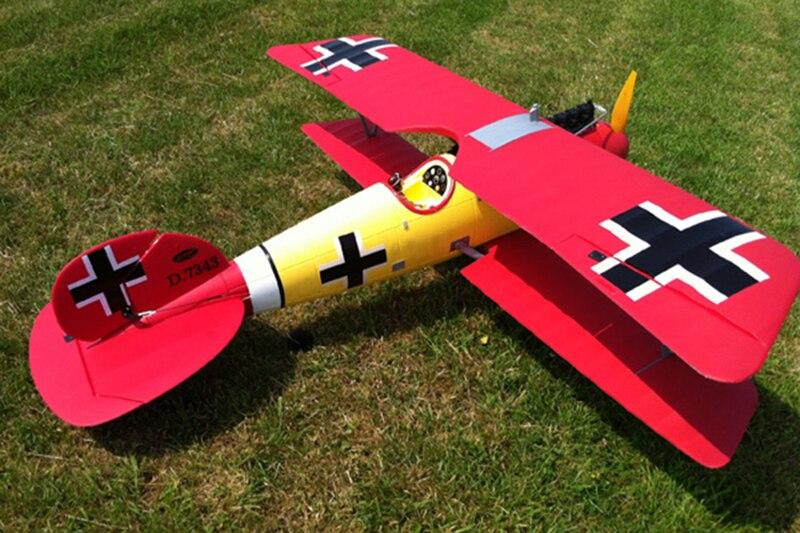 Dynam 1270MM Albatros Dva RC PNP/ARF Propeller Plane W/ Motor ESC Motor Servos радиоуправляемый самолет dynam albatros world war i 2 4g