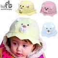 Розничная 6-48 Месяцев лев 50 СМ шапки touca sunbonnet вс шляпы детские дети младенческая bebes детей весна лето осень