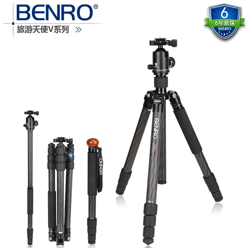 DHL GOPRO Benro c3282tv3 carbon fiber reflexed tripod monopod tripod set WHOLESALE dhl gopro benro a383ts6 tripod for video
