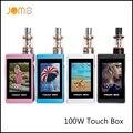 New Original SMY Touch Mod Smart Electronic Cigarette 100W TC Box Mod VW 7-100W eCigarette 2600mAh VW Mod with Gift Box Jomo-17