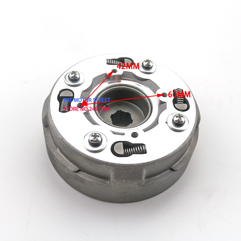 Atv,rv,boat & Other Vehicle Temperate Partsabcd Atv Pitbike 18teeth Clutch Assembly Semi Automatic For 70cc 110cc 125cc Atv Parts & Accessories
