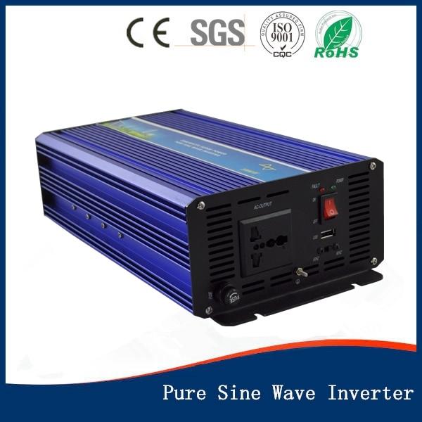 цена на Hot Sale!! New Inverters 1000W Pure Sine Wave Power Inverter DC 12V to AC110v 220V 230v 240V 50HZ/60HZ inversor de energia solar