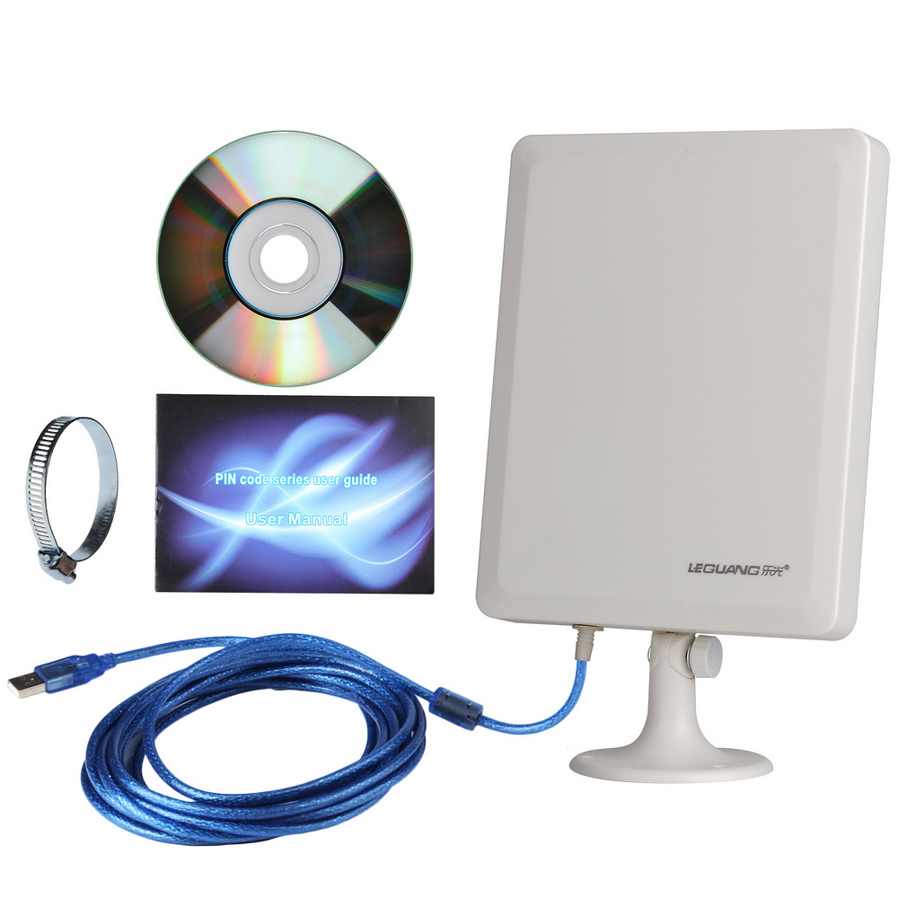 High Power Long Distance PC USB Powered WiFi Signal Booster