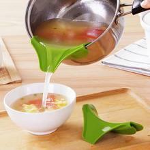 Силиконовые противоразливные сливные поддоны круглый обод дефлектор жидкий суп диверсии рот кухонная утварь FBE2