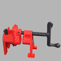3/4 inch Heavy Duty Pipe Clamp Woodworking Wood Gluing Pipe Clamp 3/4 inch Pipe Clamp Fixture Carpenter Woodworking Tools