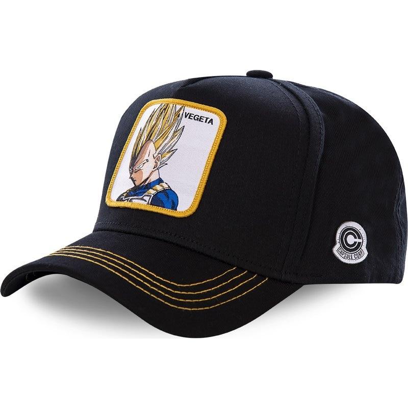 05a3aeffc5cd7 New Brand Vegeta Super Saiyan Dragon Ball Snapback Cap Cotton Baseball Cap  For Men Women Hip Hop Dad Hat Bone Dropshipping
