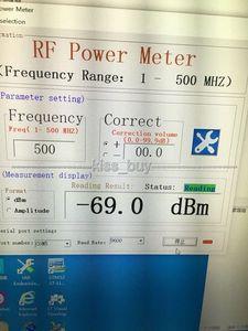 Image 5 - OLED תצוגת RF כוח מטר 1 mhz 8000 mhz יכול סט RF כוח הנחתה ערך דיגיטלי מטר + תכנה /10 w 30DB מחליש