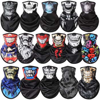Costume Motorcycle Face Masks