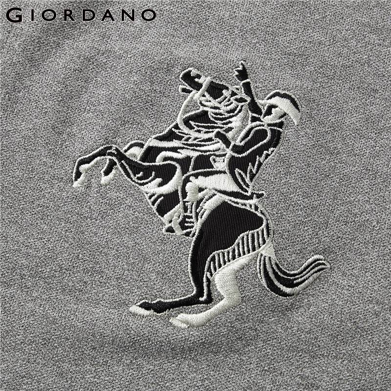Image 5 - Giordano Men Polo Men Shirt Short Sleeve Stretchy Pique Fabric Embroidered Patterns Polo Shirt Men Slim Fit Brand Camisa Polo-in Polo from Men's Clothing
