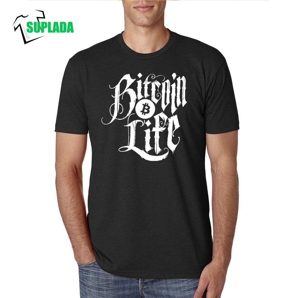 Bitcoin Life Vintage T-shirt