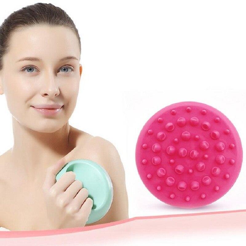 Soft Anti Cellulite Body Massager Brush Slimming Relaxing Scrub Massager Bath Shower Color Randomly пак ц pack cellulite