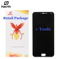 Meizu M2 Note LCD Screen 100 New 5 5inch LCD Display Touch Panel Replacement For MTK6735