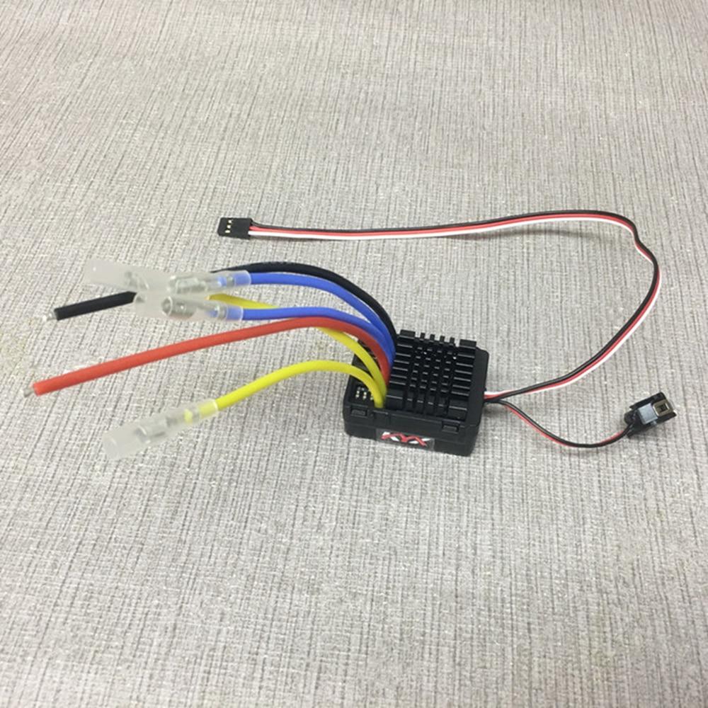 Wp-860-dual-rtr imperméable à l'eau brossé ESC assemblage pour télécommande jouets voiture axial scx10 traxxas trx4 D90 tamiya cc01 et rc bateau