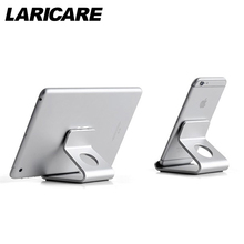 Laricare UP AP-4D Aluminium Tablet Phone Stand Stable Anti-Slippery Tablet Mobile Phone Holder for iphone ipad Android Phones