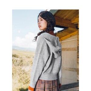 Image 2 - INMAN hiver nouveauté femme col haut coupe taille élégante femmes pull pull