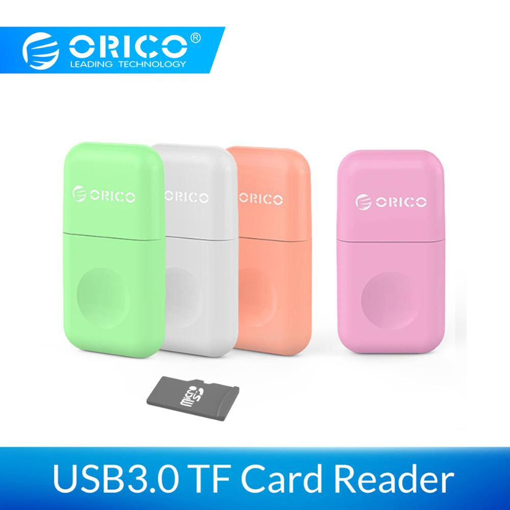 ORICO CRS12 USB3.0 TF Card Reader Portable Multifunction SuperSpeed 5 Gbps Match With OTG For Windows, Mac OS And Linux