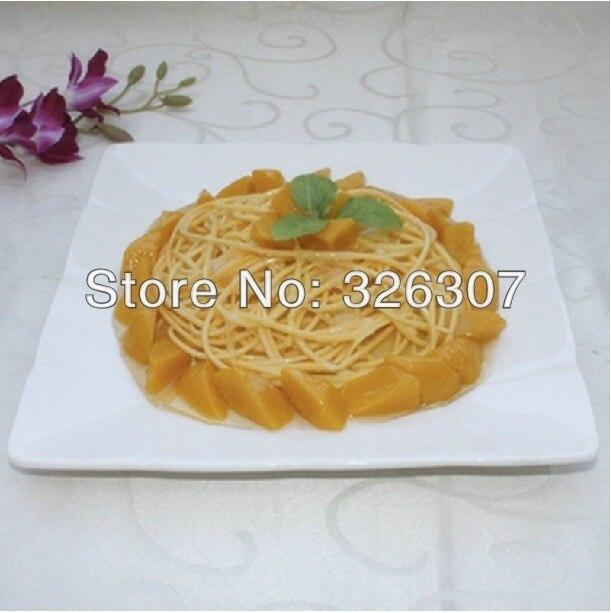 Personnaliser modèle décoration alimentaire modèle simulation pâtes restaurant plats décorés modèle échantillon plats Spaghetti nouilles