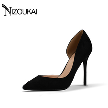 hot deal buy 2017 high heels women pumps women's shoes winter shoes women pumps sexy thin heels footwear women sapato femini shoes  d02-r10