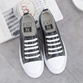 White leather lace up casual Vulcanize Shoes new spring summer women shoes 2017