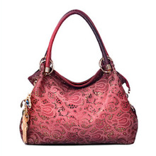 VORMOR Hollow Out Large Leather Tote Bag 2016 Luxury Women Shoulder bags, Fashion Women Bag Brand Handbag Bolsa Feminina