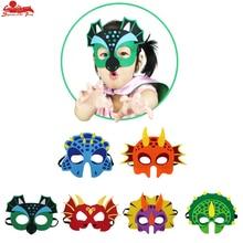 5 PCS SPECIAL Child dinosaur mask costume cartoon boy party Halloween masque dinosaur decoration kids gift Carnival costume