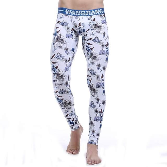 Winter Cotton Wangjiang Thermal Long Tight Men John Pants Underwear wXiTOkulZP