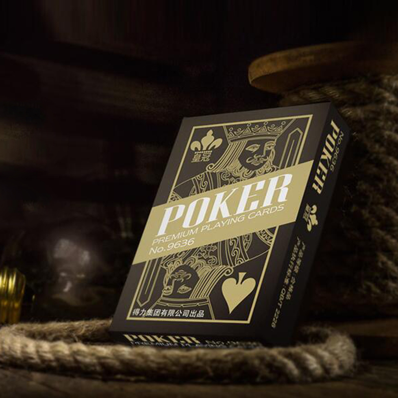1 Pcs Luxury Playing Card Magic Trick Game Poker Cards And Dull Polish Poker Star Board Games 84025