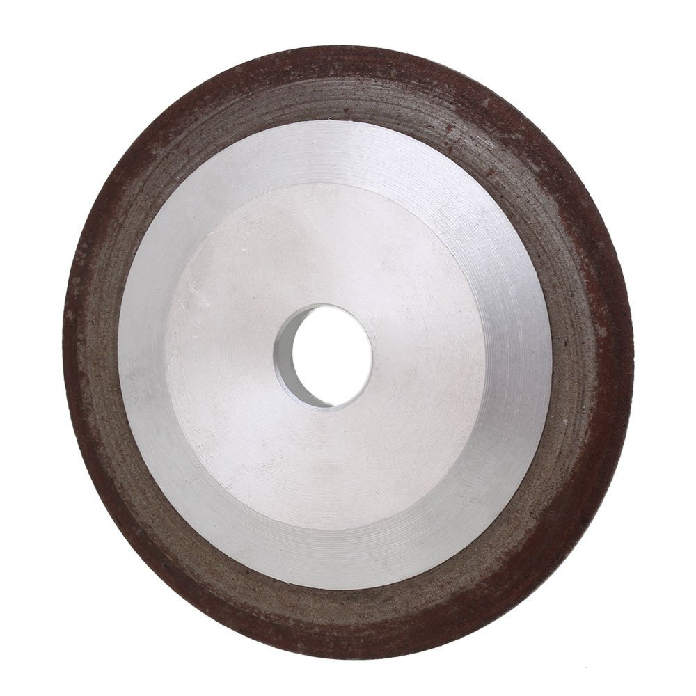 Ultimate SaleÇGrinder-Cutter Tapered Diamond Aluminum Silver Grit 150 with 100x10x16mm Resin One-Sideð