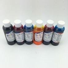 Продажи завода 6 цвет х 100 мл T0791 T0792 T0793 T0794 T0795 T0796 съедобные чернила для Epson ремесленника 1430 струйный принтер
