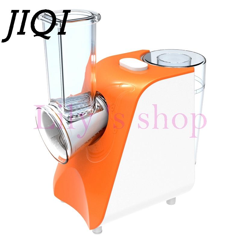 JIQI Household Slicer Cutter Blenders Multifunctional Grinder fruit and vegetable cutters water-ice salad maker with 5 Cutters portable salad vegetable fruit scissors