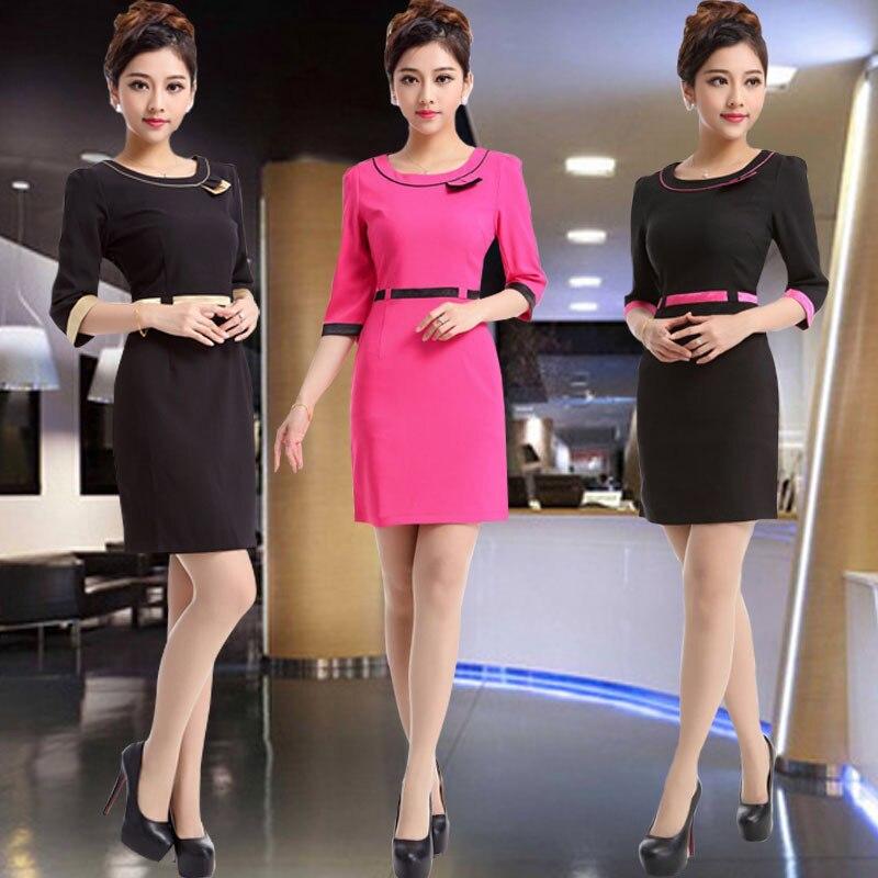 put womens dress dress suit the hotel front desk airline