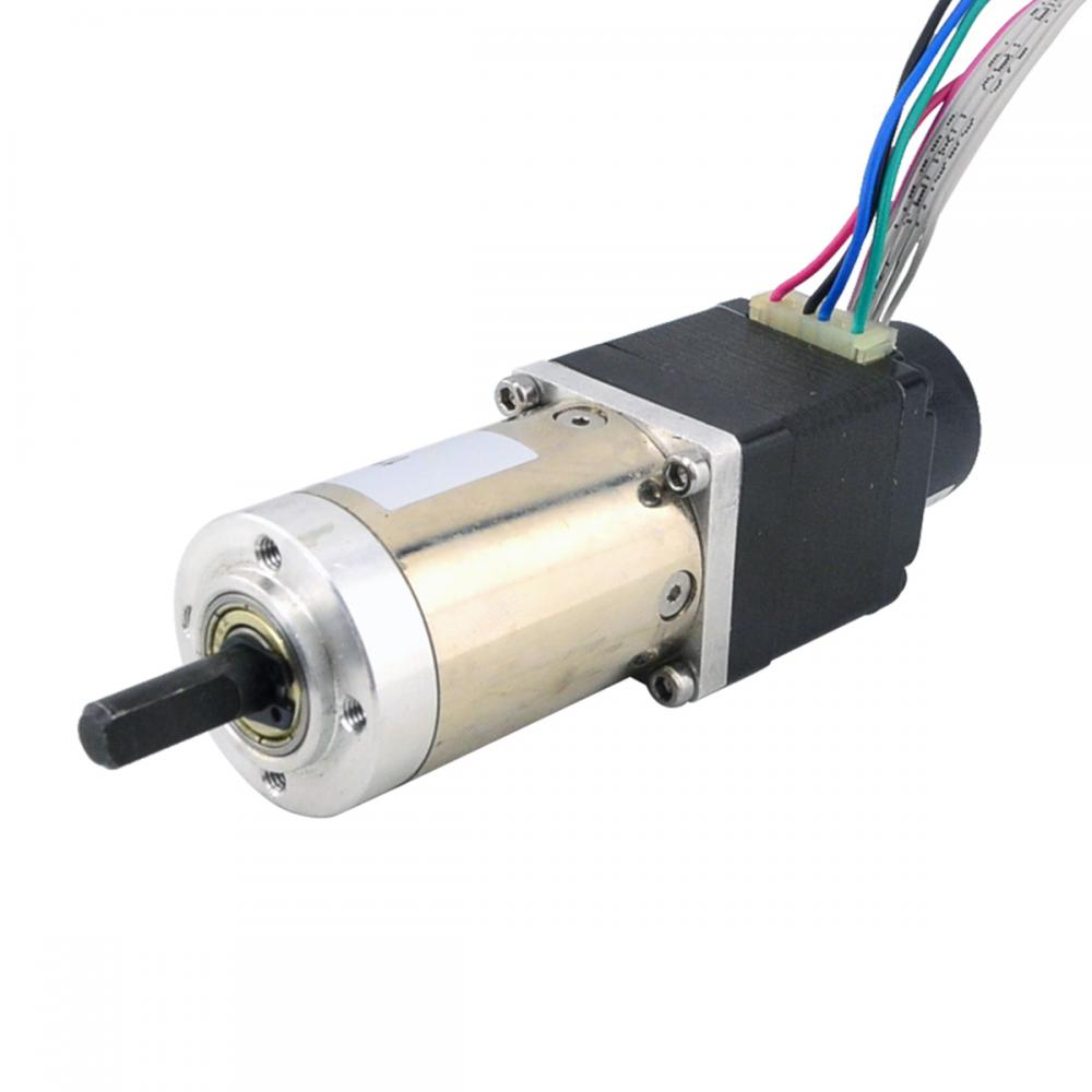 Nema 11 Closed-loop Geared Stepper Motor L=31mm Gear Ratio 100:1 Encoder 300CPR 0.67A Nema11 Step MotorNema 11 Closed-loop Geared Stepper Motor L=31mm Gear Ratio 100:1 Encoder 300CPR 0.67A Nema11 Step Motor