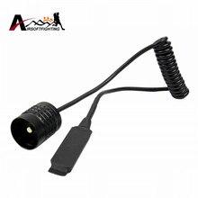 Olight реле мыши факел кнопки давления хвост тактический фонарик дистанционного управления