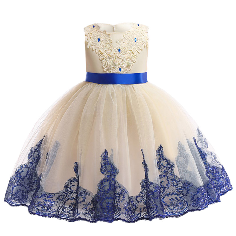 Flower     Girls     Dress   For Party and Wedding   Dress   2019 Summer Toddler   Girls   Lace Princess   Dress   Kids   Dresses   For Children Clothing