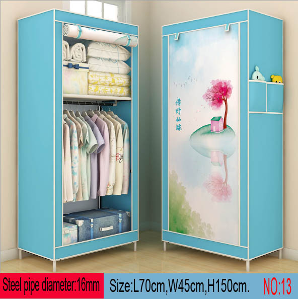 Wardrobe  Stainless steel Steel pipe WardrobeWardrobe  Stainless steel Steel pipe Wardrobe