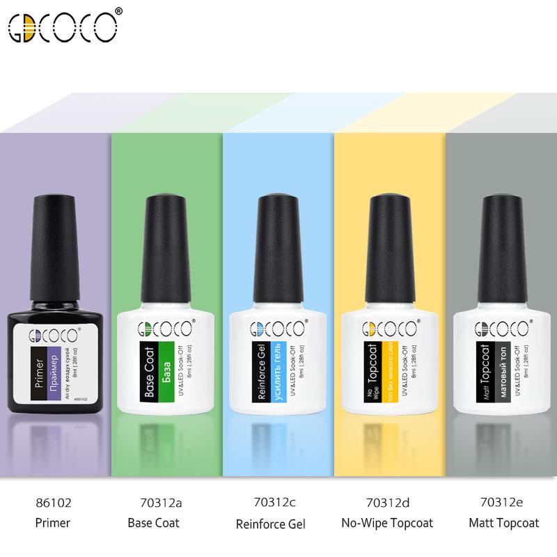GDCOCO лак для ногтей nail Art Гель для дизайна Лаки 8 мл неонового цвета блестящие soak off-польский гель маникюр оптовая продажа