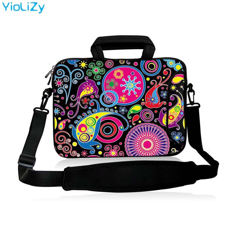 Laptop shoulder Bag tablet Case 9.7 11.6 13.3 14.1 <font><b>15</b></font>.6 17.3 inch Notebook sleeve briefcase For <font><b>Asus</b></font> HP Acer Lenovo Dell SB-3106 image