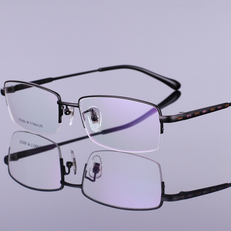 Titanium Eyeglass Frames China : Aliexpress.com : Buy New 2016 Stylish Pure Titanium Half ...