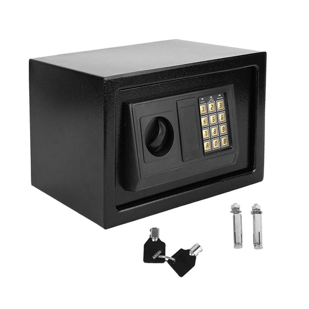 Electronic Safe Household Wall Electronic Locks Safe Deposit Box Money Jewellery Cash Store Documents Security Keypad Lock