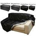 Уличная садовая мебель дождевик водонепроницаемый Оксфорд плетеный диван защитный набор садовый патио Дождь Снег пылезащитный черный чех...