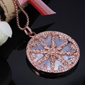 Thomas Style Rose Gold Plated Wheel Pendants & Necklaces 2017 Romantic Glam Jewelry Soul For Women Christmas TS Gifts Collie