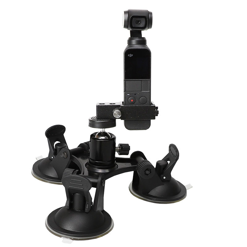 Tripods Suction Cup Car Holder Mount for DJI Osmo Pocket Car Outside the window Glass Sucker Holder Driving Recorder Accessories