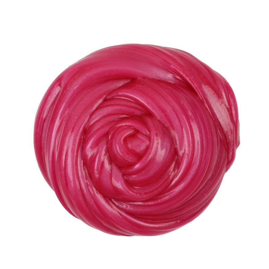 CHAMSGEND toy Plasticine Kids Fluffy Floam Slime Putty Durtend Clay Toy 60ml Scented Stress Relief plasticine toys AP5