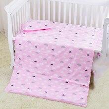 100*130 см детский пододеяльник для девочек и мальчиков, хлопковая кровать для кроватки, мультяшное детское постельное белье, пододеяльник без наполнителя